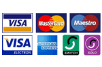 credit card logos block e